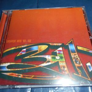 cd  311   greatest hits  93 -  03