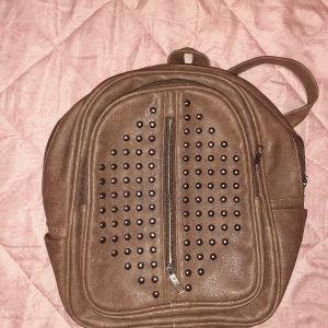 ολοκαίνουριο καφέ σκούρο backpack