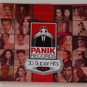 2 CD PANIK RECORDS 30Super Hits σε μία συλλεκτική κασετίνα.