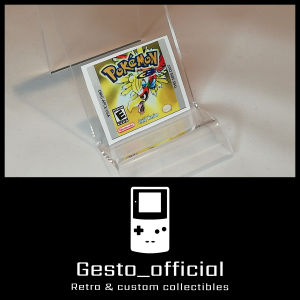 Pokemon Gold ανταλλακτικό αυτοκόλλητο για την κασέτα Gesto_official