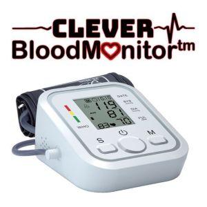 Clever Blood Monitor– Υπεραυτόματο Πιεσόμετρο Μπράτσου με Ελληνική εκφώνηση – Ειδοποίηση υψηλής χαμηλής πίεσης με ηχητική εκφώνηση
