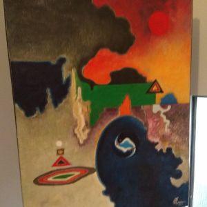 Πίνακας ζωγραφικής από Bali