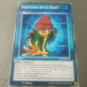 Skill Cards (Rex Raptor)