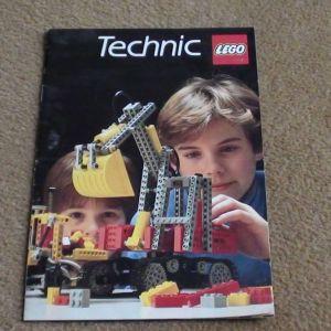 Lego Technic κατάλογος του 1984