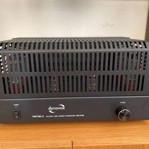 Dynavox VR-70 II Black - Ενισχυτής Ολοκληρωμένος Λαμπάτος Stereo