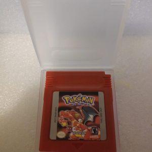 Pokemon Red Version Cartridge GBA