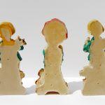 3 Vintage Παιδικές Διακοσμητικές Φιγούρες