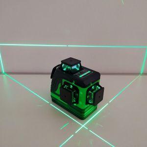 Super ΠΡΟΣΦΟΡΑ Επαγγελματικός αλφάδι λέιζερ 3D με πράσινη δέσμη