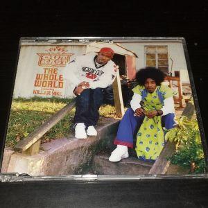 OUTKAST & KILLER MIKE - THE WHOLE WORLD 5 TRACK CD SINGLE HIP HOP