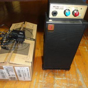 Eden Microtour Mini Ενισχυτής Ηλεκτρικού Μπάσου & EDEN ADPT-70001