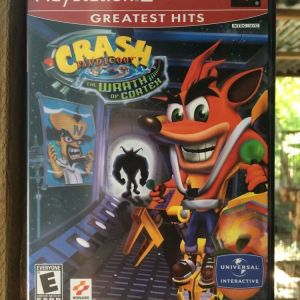 PS2 Game -CRASH