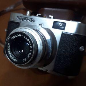 Φωτογραφική μηχανή VOIGTLANDER VITO B, COLOR-SKOPAR Αυστρίας του 1964.