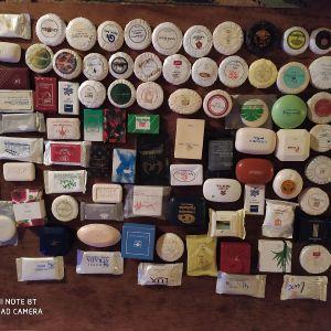 Συλλογή από διαφημιστικά σαπουνακια (100)
