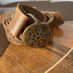 Ζωνη αγορασμένη απο μαροκο handmade εξαιρετικής ποιότητας δερμα