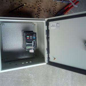 Delta inverter VFD007E21T Ρυθμιστής Στροφών με ηλεκτρολογικό πίνακα