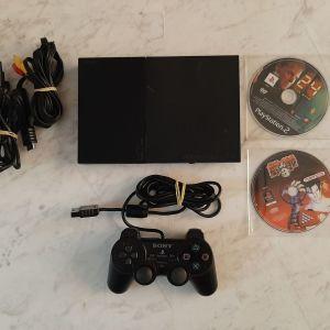 SONY PLAYSTATION 2 SLIM ( PS2 SLIM ) KAI 2 GAMES