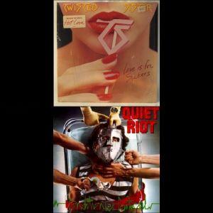 2 Ξένοι δίσκοι βινυλίου rock και metal σε άριστη κατάσταση