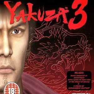 YAKUZA 3 - PS3