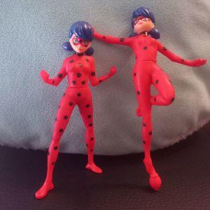 2 φιγούρες Ladybug