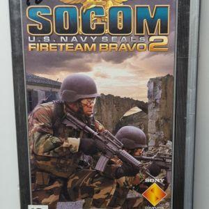 PSP SOCOM US NAVY SEALs FIRETEAM BRAVO 2 USED
