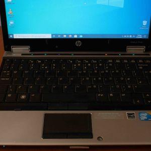 HP Elitebook 2540p (i7/ 4gb/ 160gb HDD/ Caddy/ Windows 10 Pro)