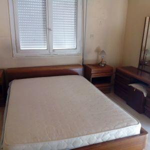 Κρεβατοκάμαρα  κομπλέ με καινούργιο στρώμα
