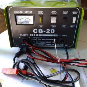 Φορτιστής μπαταρίας 12 κ 24