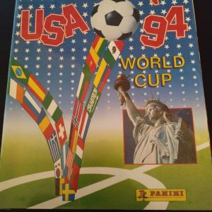 PANINI ΜΟΥΝΤΙΑΛ USA 1994 official χωρίς αυτοκόλλητα