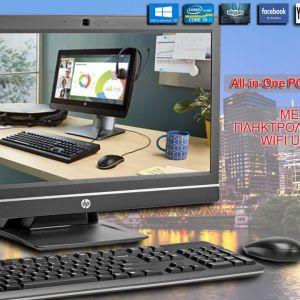 HP ProOne 600-G1 All-in-One PC / CPU i3-4160 / 8 GB RAM / 128 SSD / KAMERA / WIFI / οθόνη 21,5