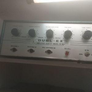Ενισχυτής λαμπάτος DUBLEX Vintage 100W