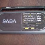 Ραδιο SABA RX-125 FM. MW. SW.