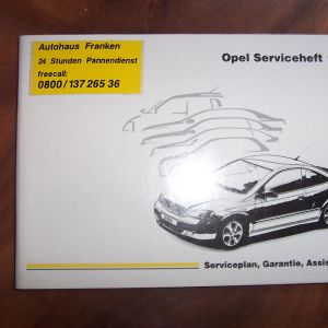 OPEL VECTRA BOOK SERVICE