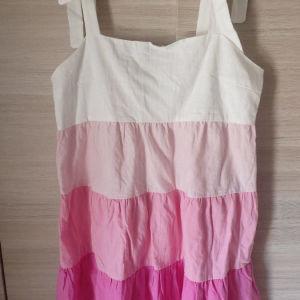 Φόρεμα λινό L NEW