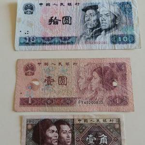 Κίνας Χαρτονομίσματα