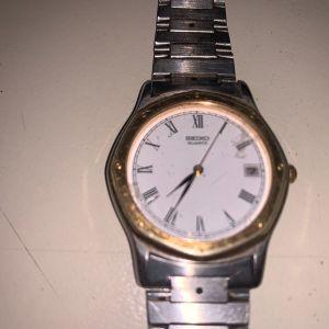Seiko quartz gents vintage 1984 ρολόι χειρός