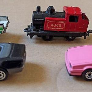αυτοκινητάκια vintage: 3 matchbox και 2 majorette
