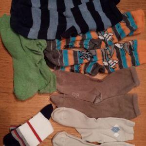 6 ζευγάρια κάλτσες ν31-34