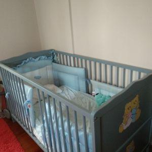 Βρεφική κούνια - παιδικό κρεβάτι