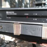Sanyo solid state music station,full working condition.