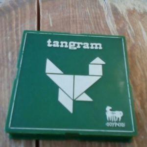 Επιτραπέζιο βινταζ tangram vintage τσέπης δούρειος ολοκληρωμένο