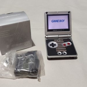 Nintendo Game Boy Advance SP Custom SNES System AGS 001