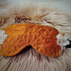 Χειροποίητη Μεταξωτή Μάσκα Ύπνου + Θήκη / Handmade silk sleeping mask
