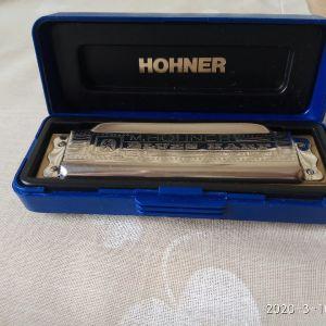 Φυσαρμόνικα M HOHNER 10. Made in Germany. Στο κουτί της. Σε άριστη κατάσταση.