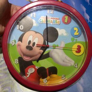 Ρολόι Τοίχου Disney Mickey Mouse