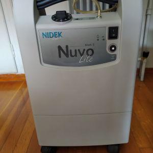 Αμερικανικός συμπυκνωτης οξυγόνου Windek Nuvo Lite (οξυγόνο θεραπεία).