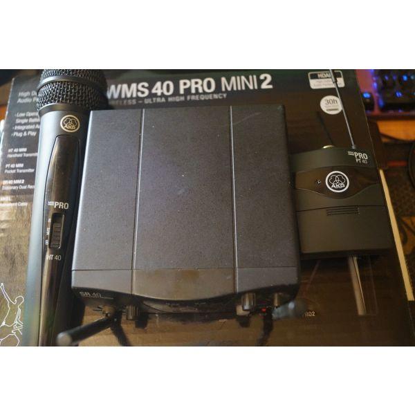 Akg WMS-40 MINI-2 MIX diplo asirmato set mikrofonou chiros ke instrument