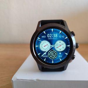 Smartwatch καινούργιo με οθόνη 454x454, δυνατότητα συνομιλία, Ελληνικό μενού και μαγνητικό φορτιστή