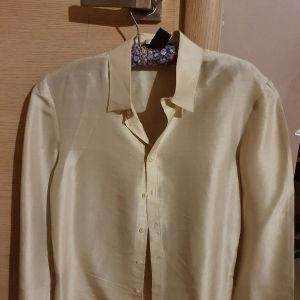 Ralph Lauren μεταξωτο πουκαμισο (Μ)