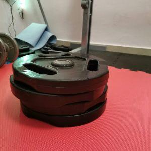 4 Δίσκοι με λαβές 10κλ ο ένας για ολυμπιακή μπάρα