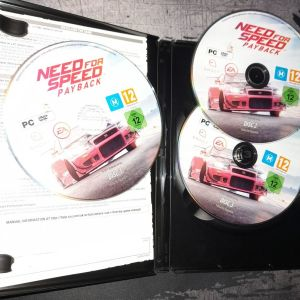 Need for Speed Payback PC game Disk